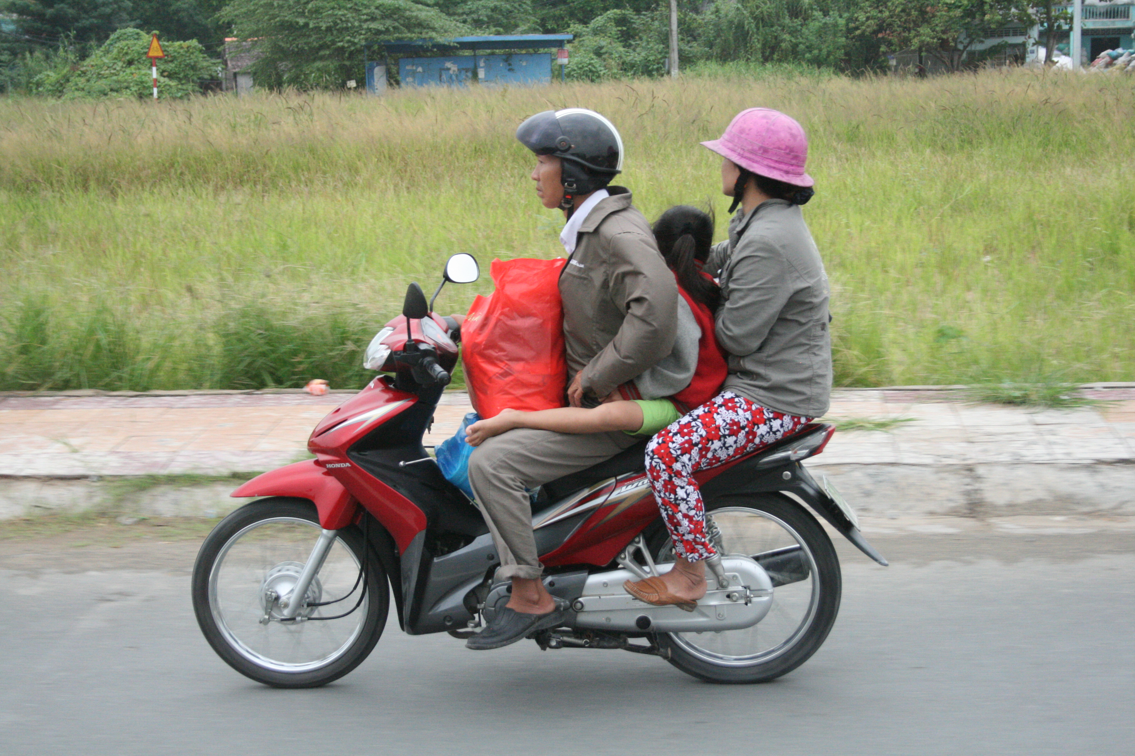 A family on the move